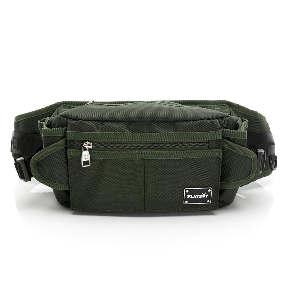 PLAYBOY- 單肩背包/腰包 Back to Basics系列 -綠色