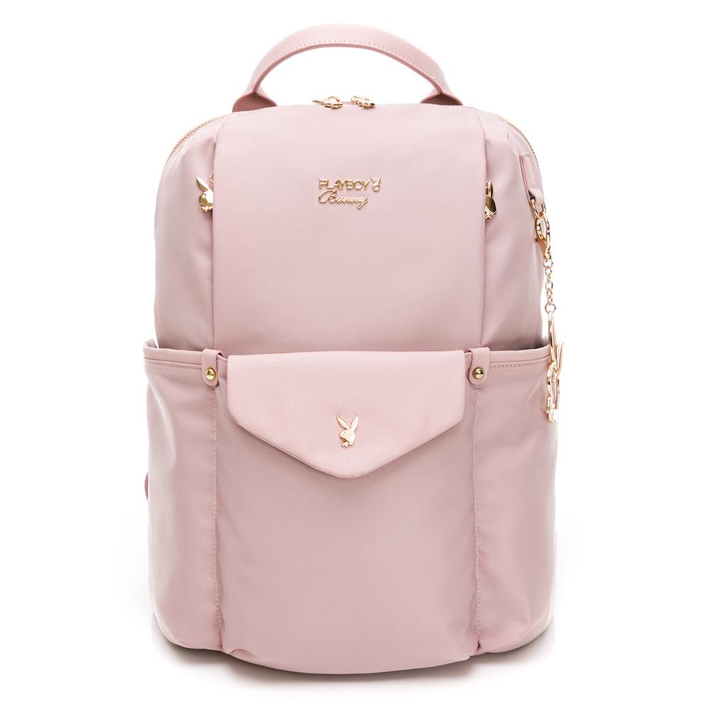 PLAYBOY-  後背包 Plus+系列-粉紫色