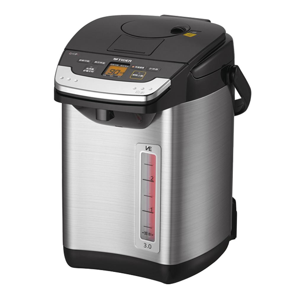 TIGER虎牌無蒸氣雙模式出水VE節能3.0L真空熱水瓶 PIG-A30R