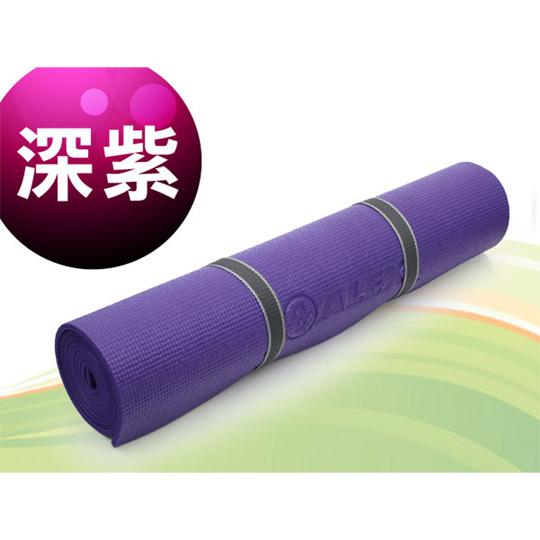 ALEX 瑜珈墊-有氧 塑身 地墊 深紫@C-1803-6@