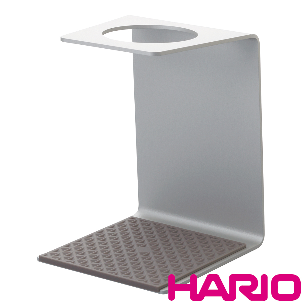 【HARIO】V60濾杯鋁製專用架銀 VSA-1SV