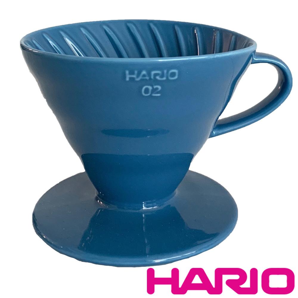 【HARIO】V60海軍藍02彩虹磁石濾杯 VDC-02-TKB-TW