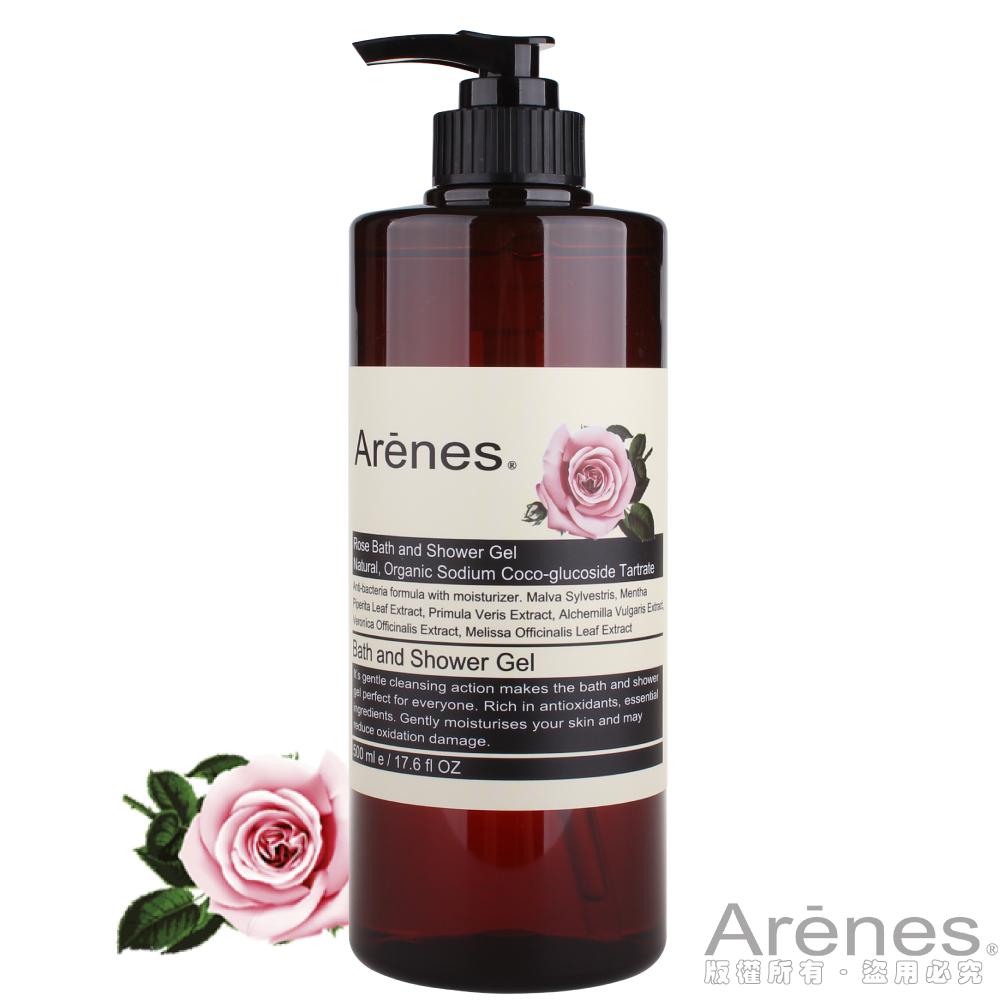 Arenes玫瑰香氛植萃沐浴露(500ml)