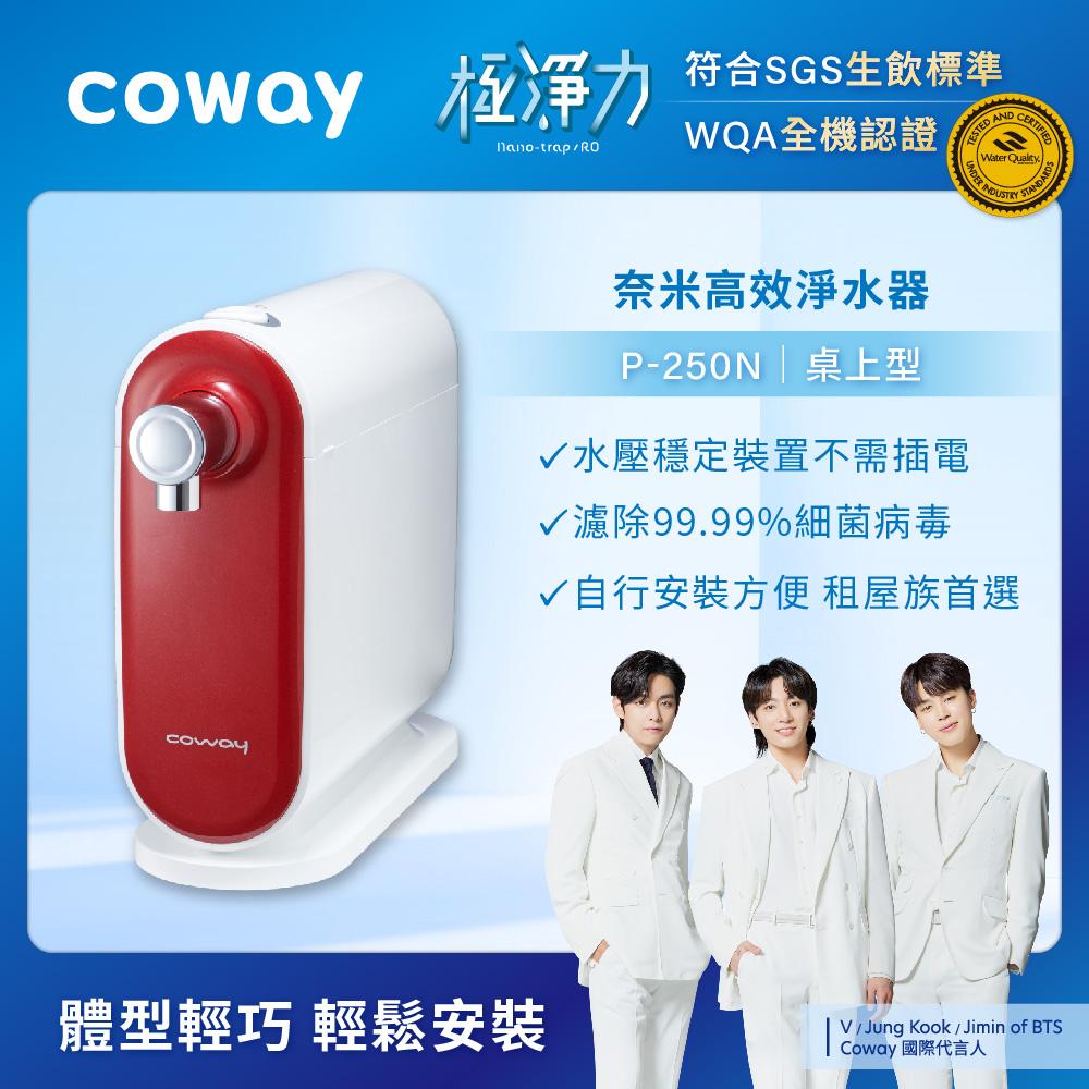 Coway 奈米高效淨水器 P-250N DIY組