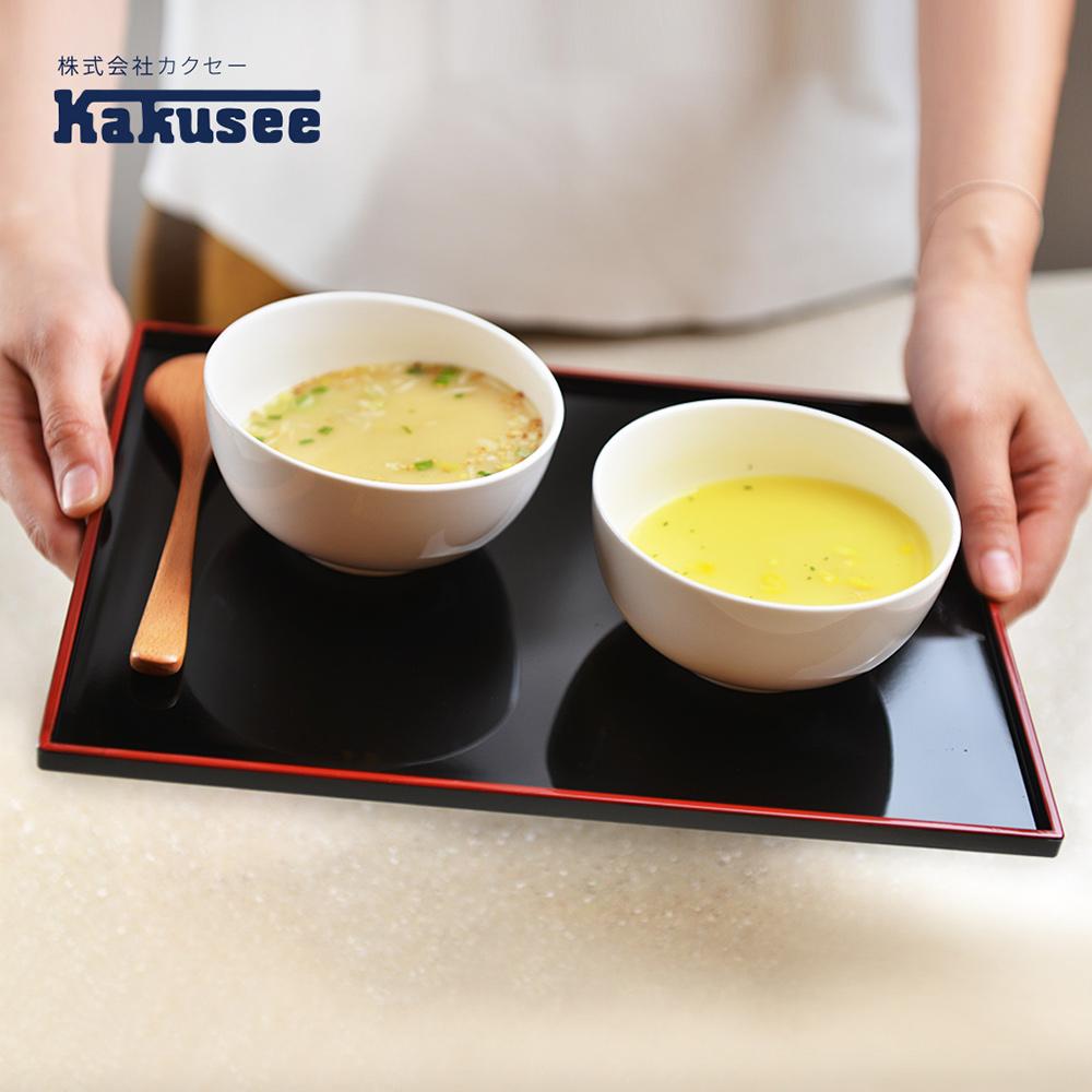 【日本Kakusee料理道具】防滑日式托盤-S
