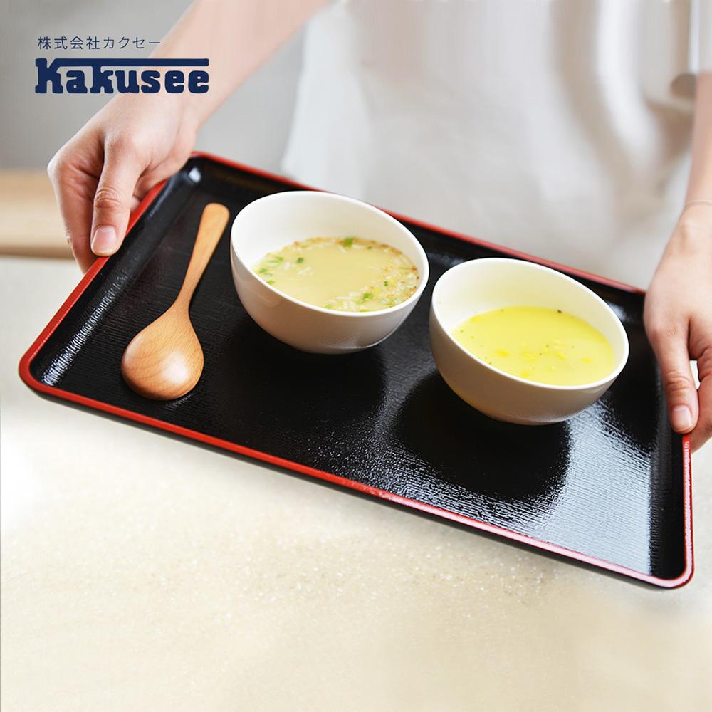 【日本Kakusee料理道具】防滑日式托盤-L