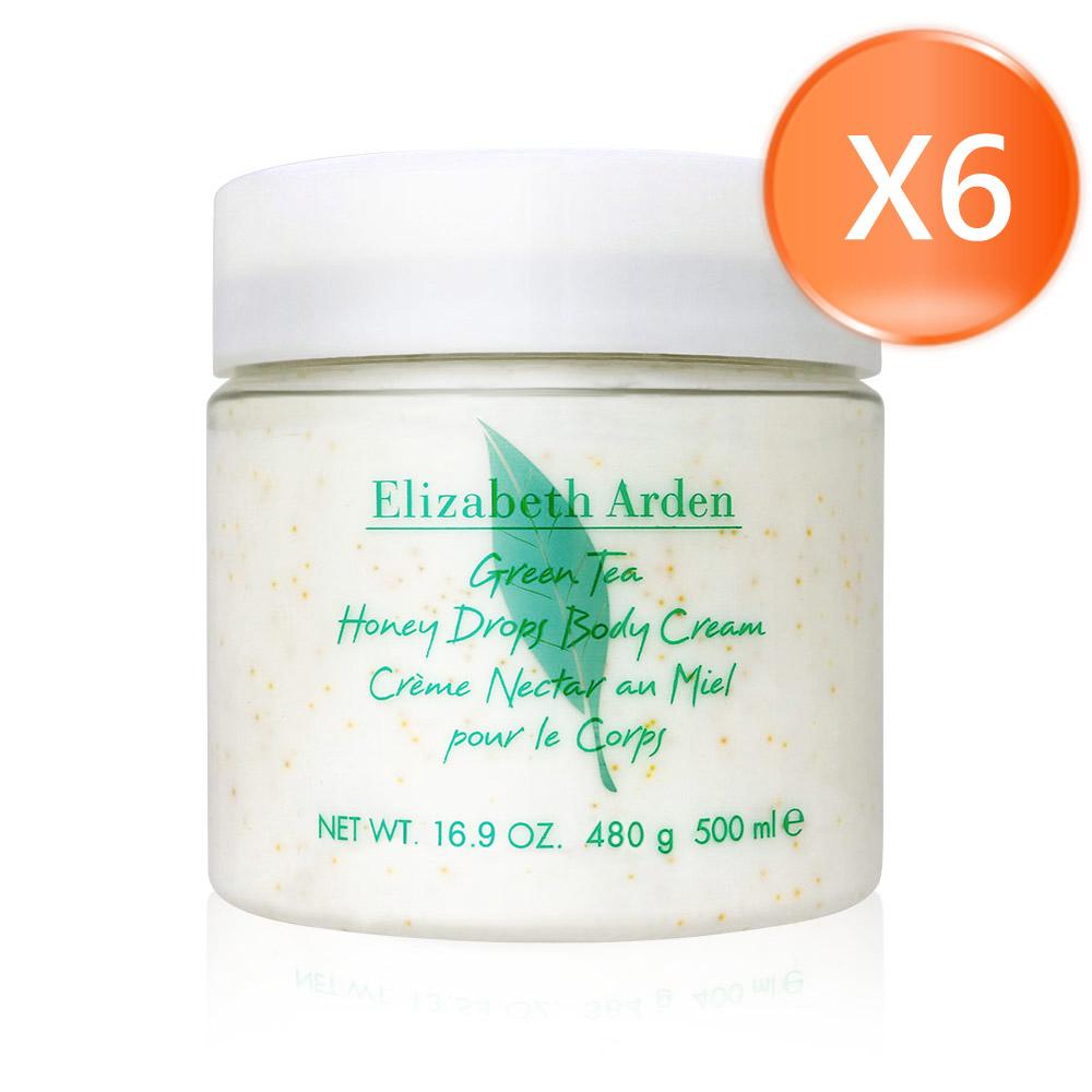 Elizabeth Arden 伊莉莎白 雅頓 綠茶蜜滴舒體霜 500mlX6