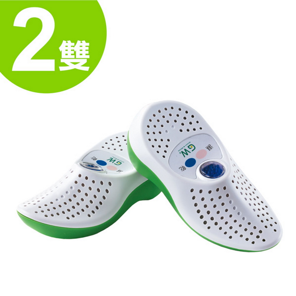 【GW】水玻璃無線式乾鞋機 E-150(兩雙)