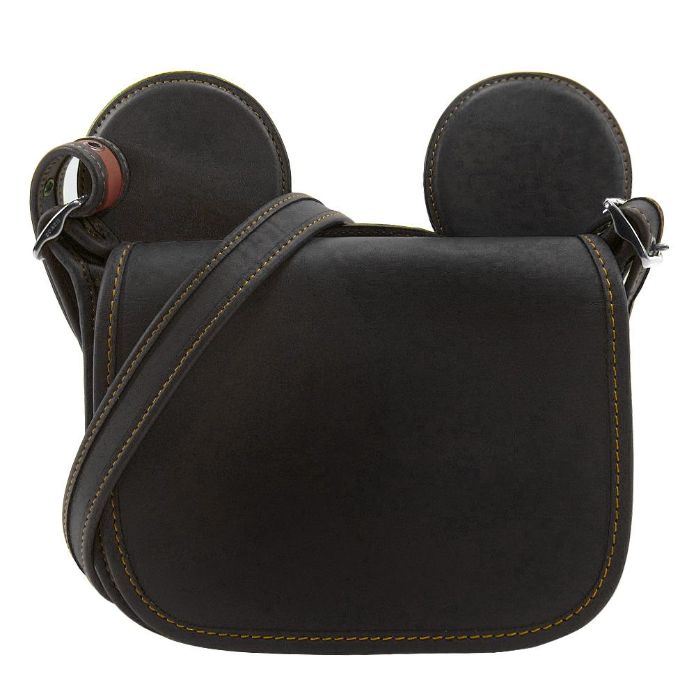 【聯名限定】COACH x Disney 米奇限量聯名款大耳朵斜背包(黑)