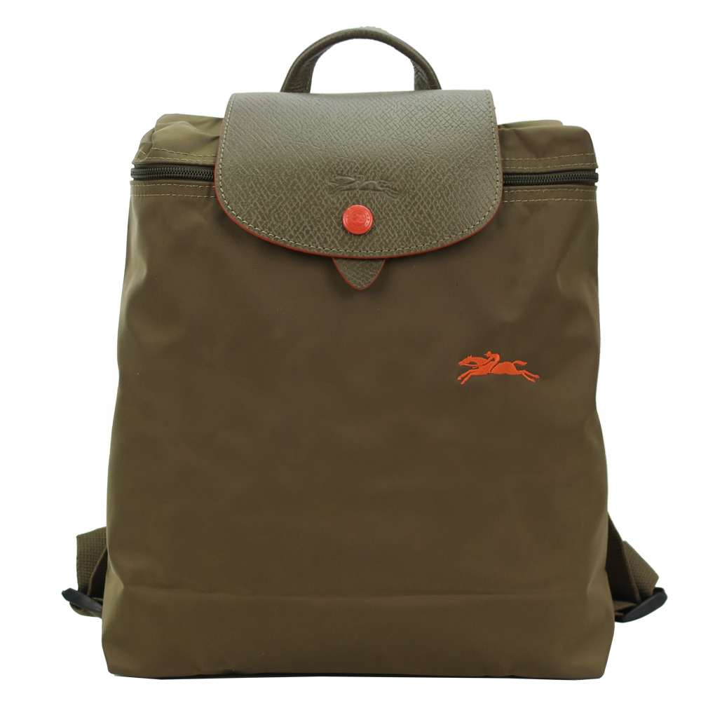 LONGCHAMP Le Pliage Collection摺疊後背包(卡其)