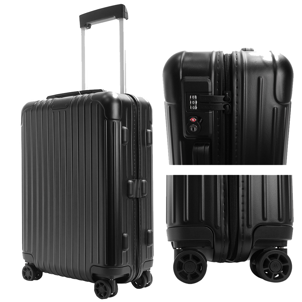 RIMOWA ESSENTIAL Cabin  21吋登機箱(霧黑)