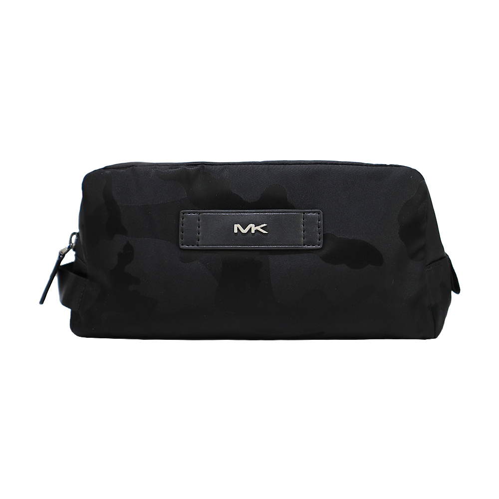MICHAEL KORS KENT ACCESSORIES 迷彩萬用包-黑