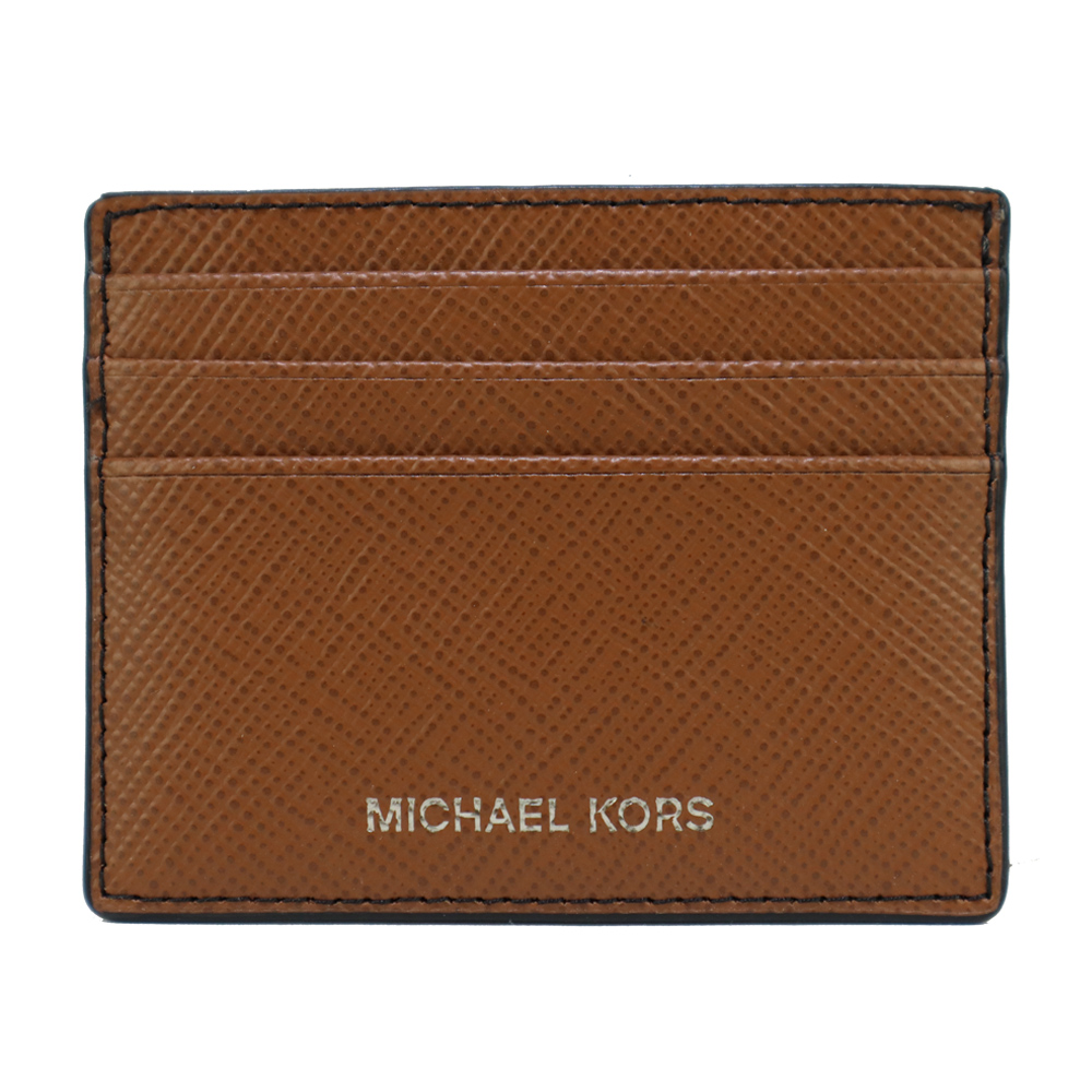 MICHAEL KORS HARRISON六卡證件夾-棕