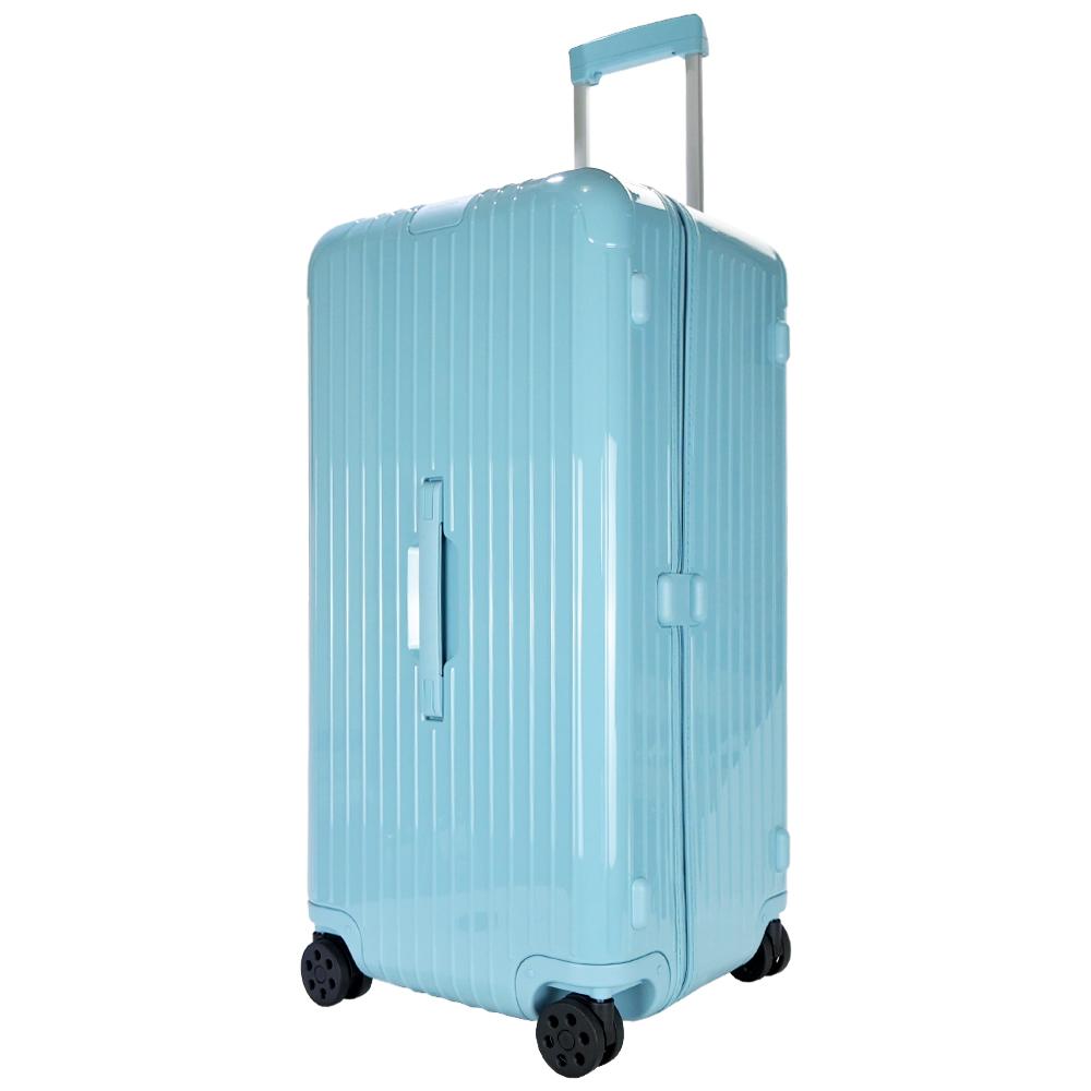 RIMOWA ESSENTIAL Trunk Plus 31吋大型運動旅行箱(冰川藍)