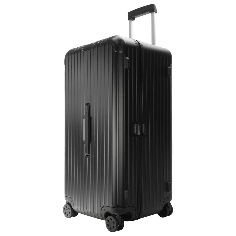 RIMOWA ESSENTIAL Trunk Plus 31吋大型運動旅行箱(霧黑)