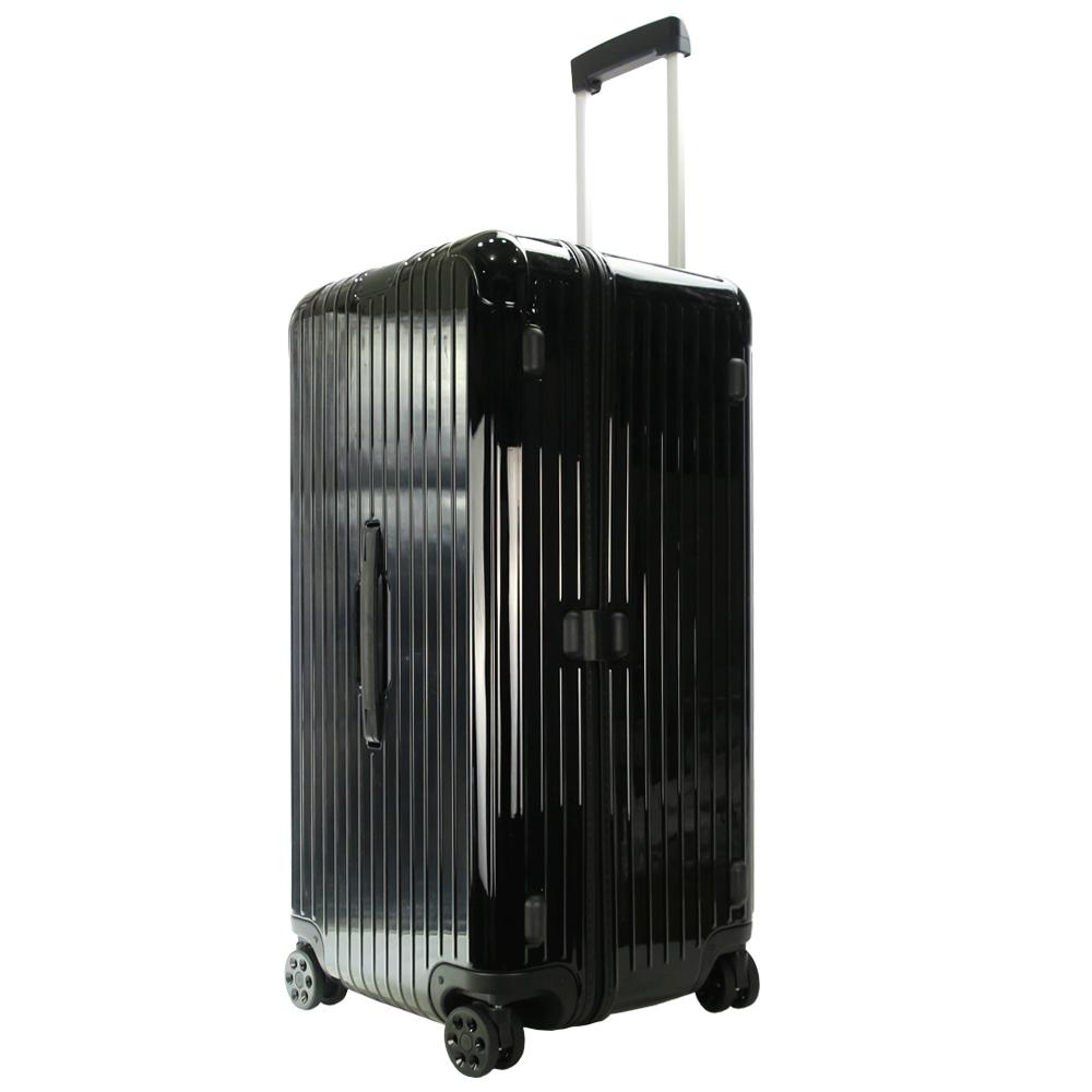 RIMOWA ESSENTIAL Trunk Plus 31吋大型運動旅行箱(亮黑)