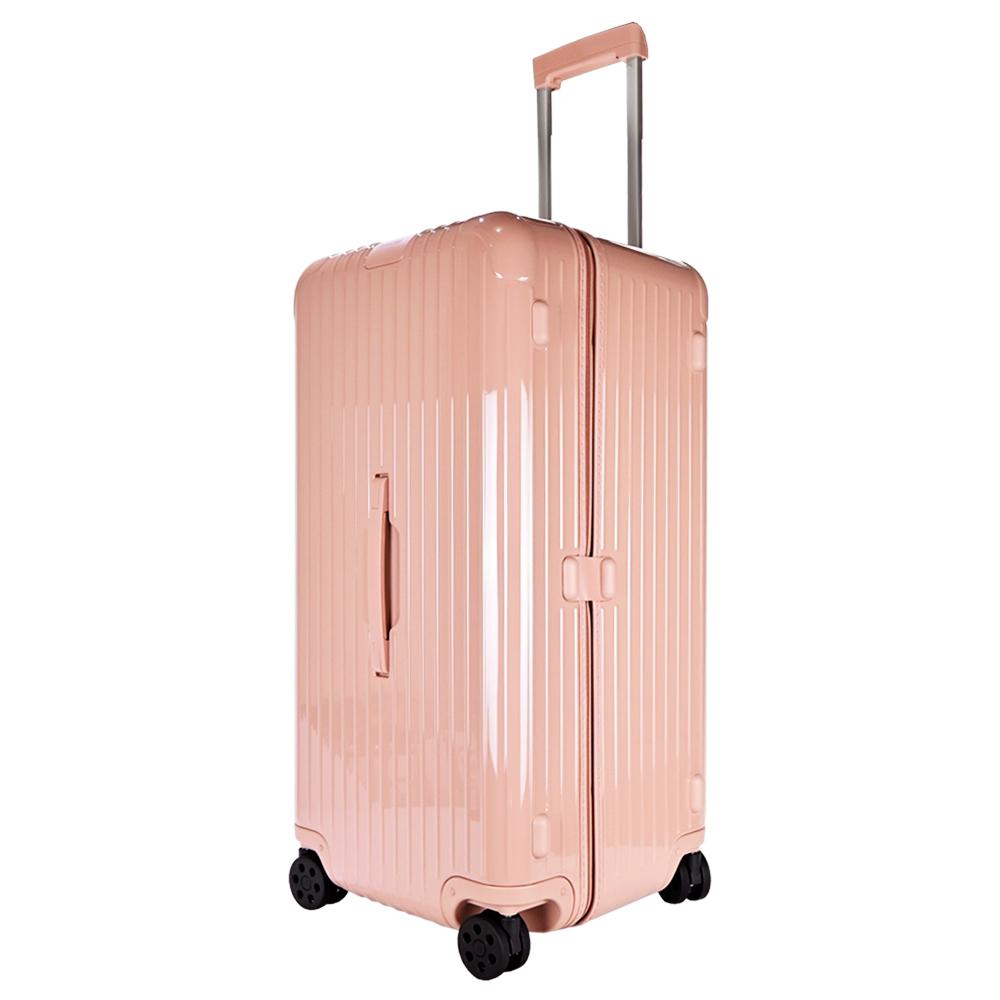 RIMOWA ESSENTIAL Trunk Plus 31吋大型運動旅行箱(沙漠玫瑰粉)