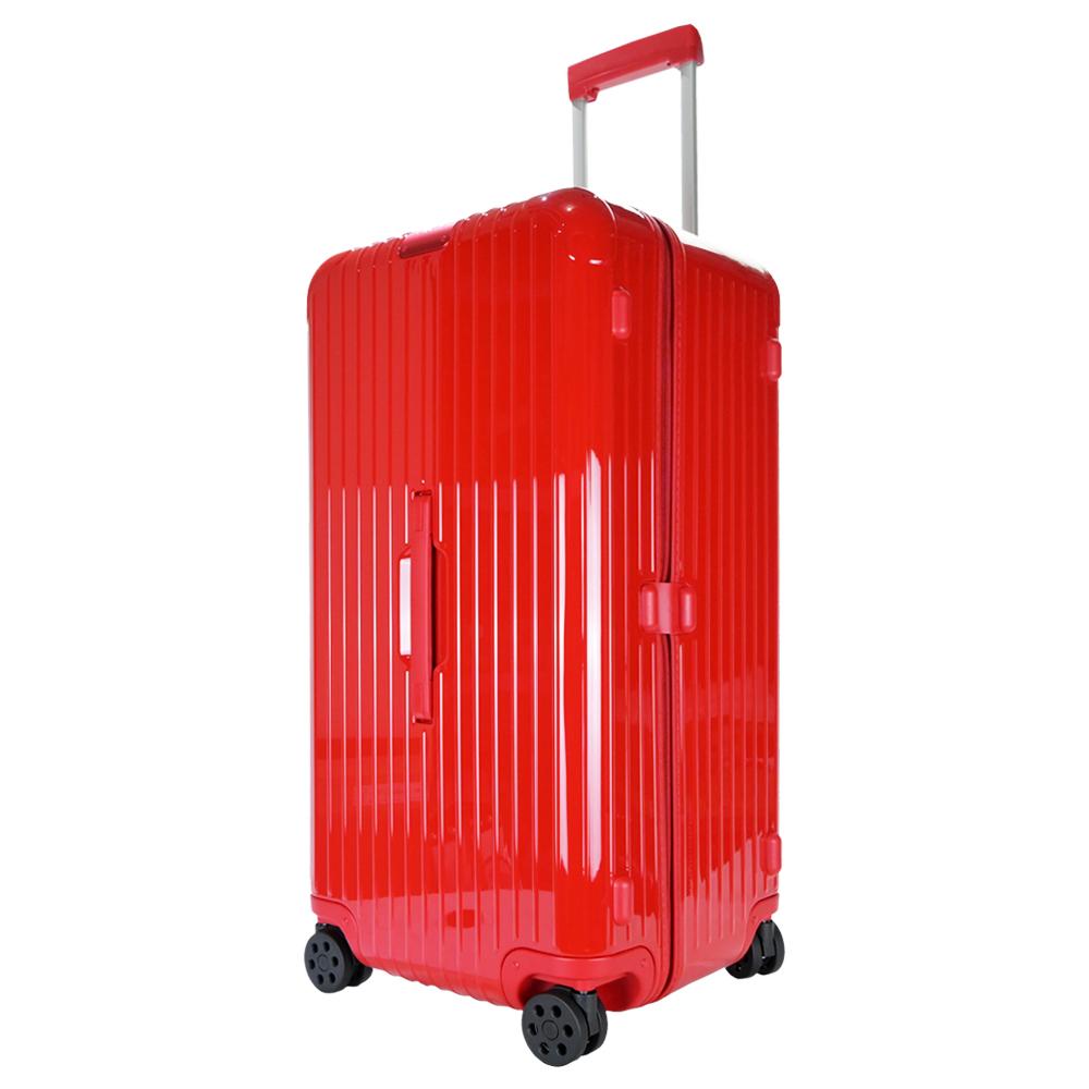 RIMOWA ESSENTIAL Trunk Plus 28吋大型運動旅行箱(鮮紅)