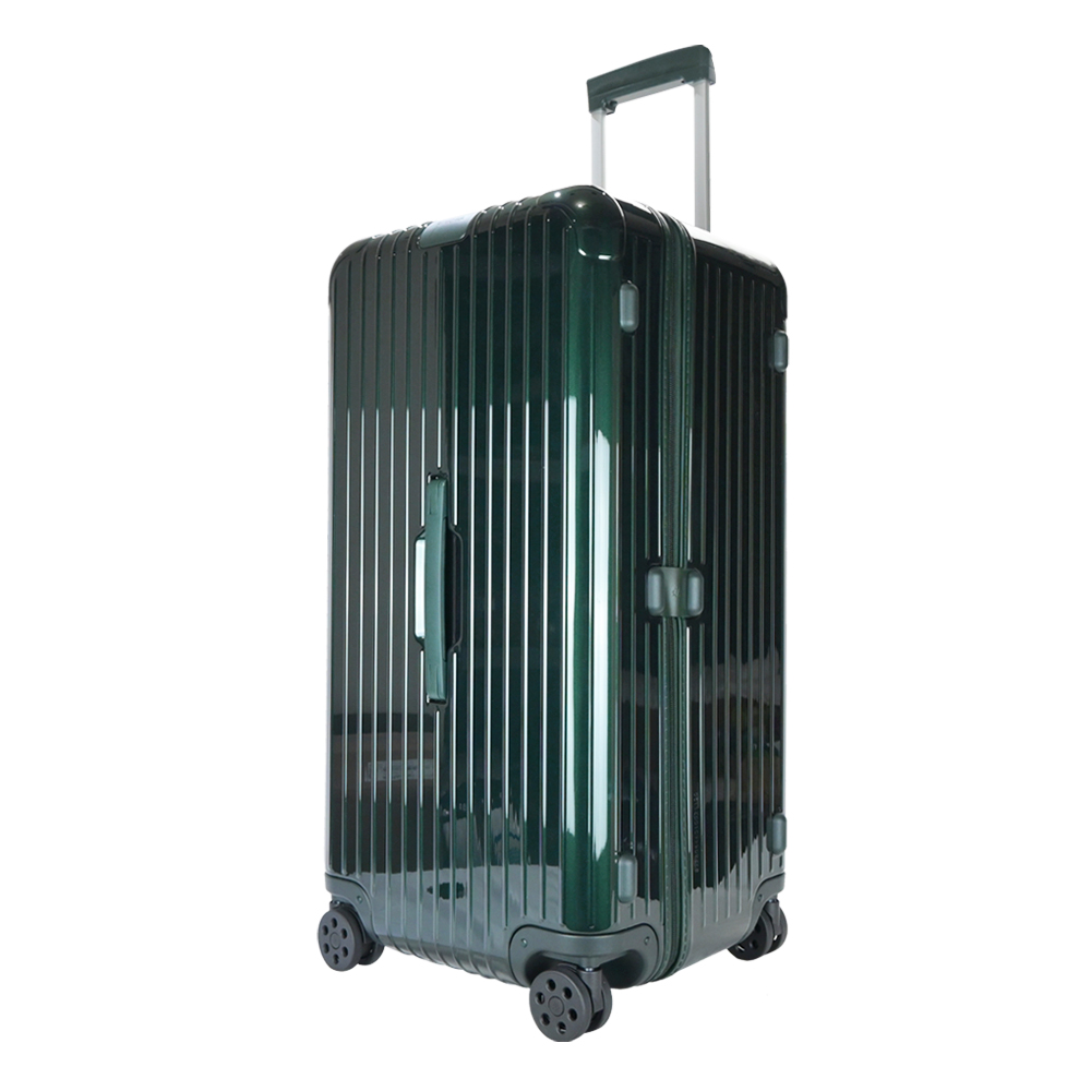 RIMOWA ESSENTIAL Trunk Plus 28吋大型運動旅行箱(寶石綠)