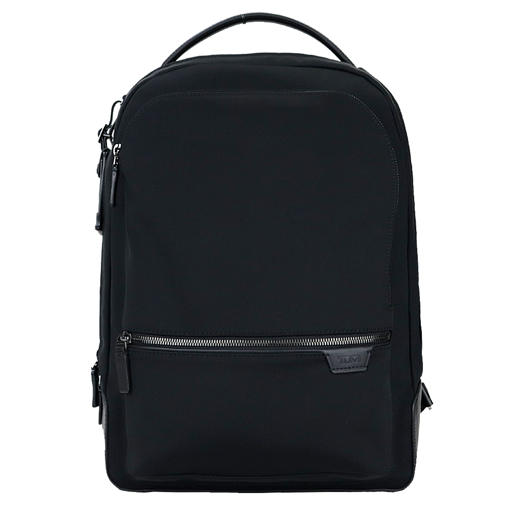 TUMI HARRISON BRADNE系列14吋筆電簡約後背包(黑)