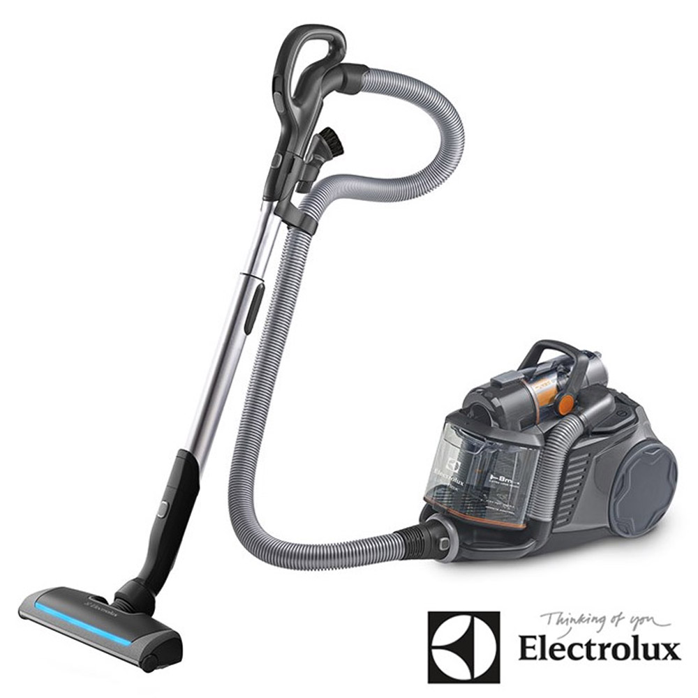 買就送(公司貨保固)Electrolux 伊萊克斯 頂級集塵盒電動除螨吸塵器 ZUF4207ACT