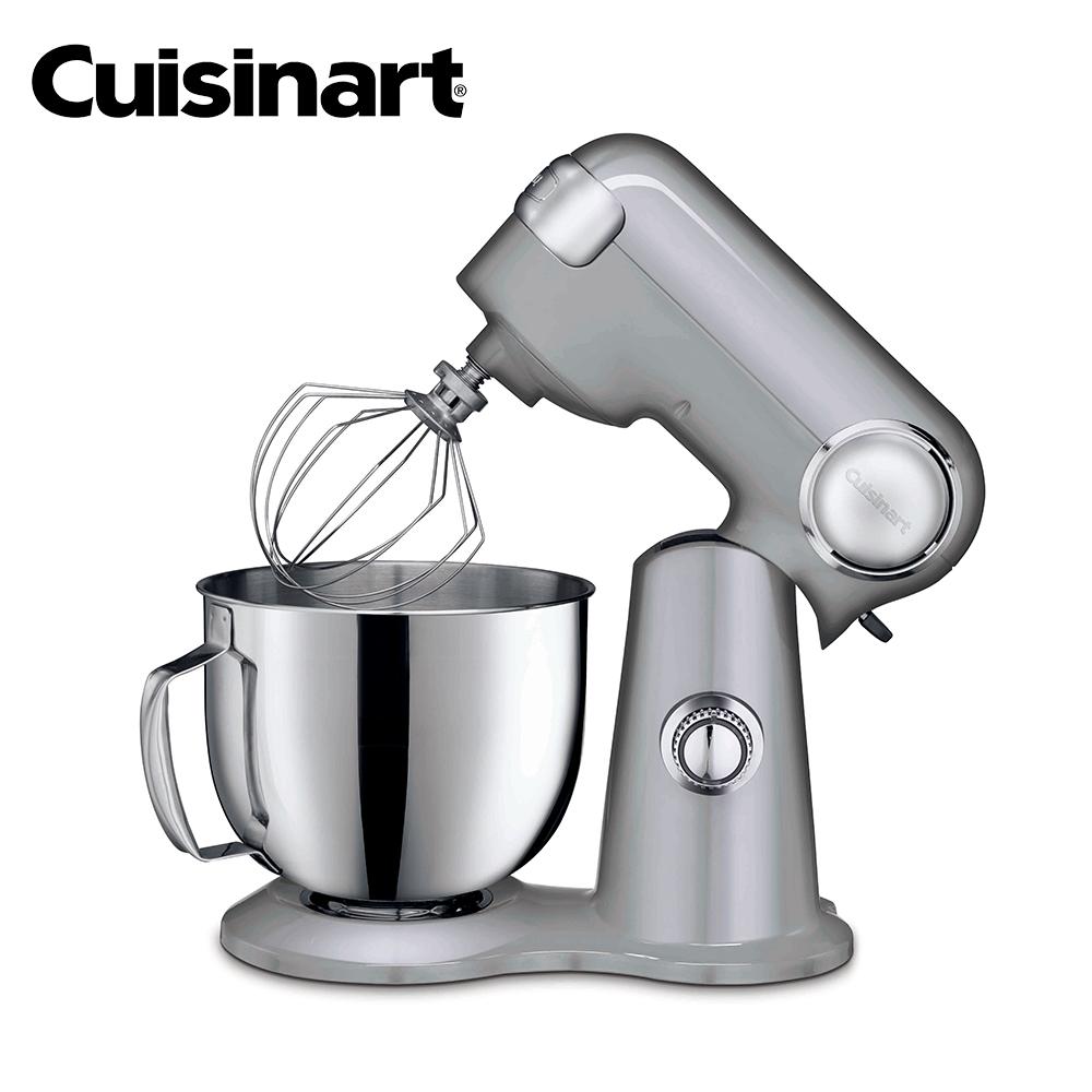 買就送食物調理機+刮刀【Cuisinart 美膳雅】12段速桌上型抬頭式攪拌機 SM-50BCTW