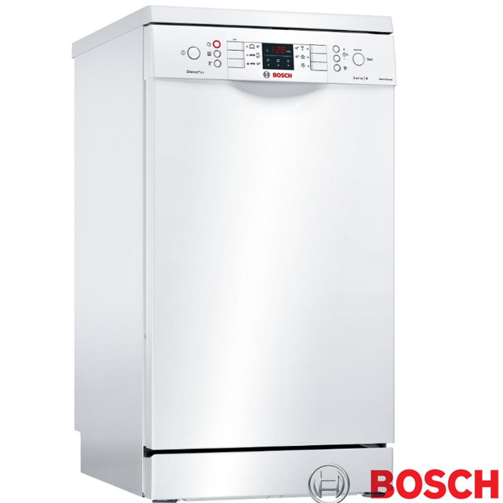 【BOSCH 博世】免費試用90天 10人份 獨立式洗碗機 含基本安裝(SPS46MW00X)