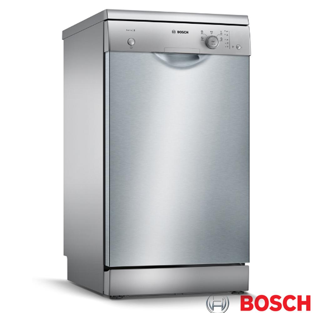 【BOSCH 博世】免費試用90天 9人份 獨立式洗碗機 含基本安裝(SPS25CI00X)