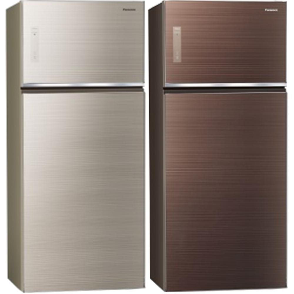 Panasonic國際牌變頻雙門電冰箱(玻璃面無邊框)579公升NR-B589TG-N/NR-B589TG-T
