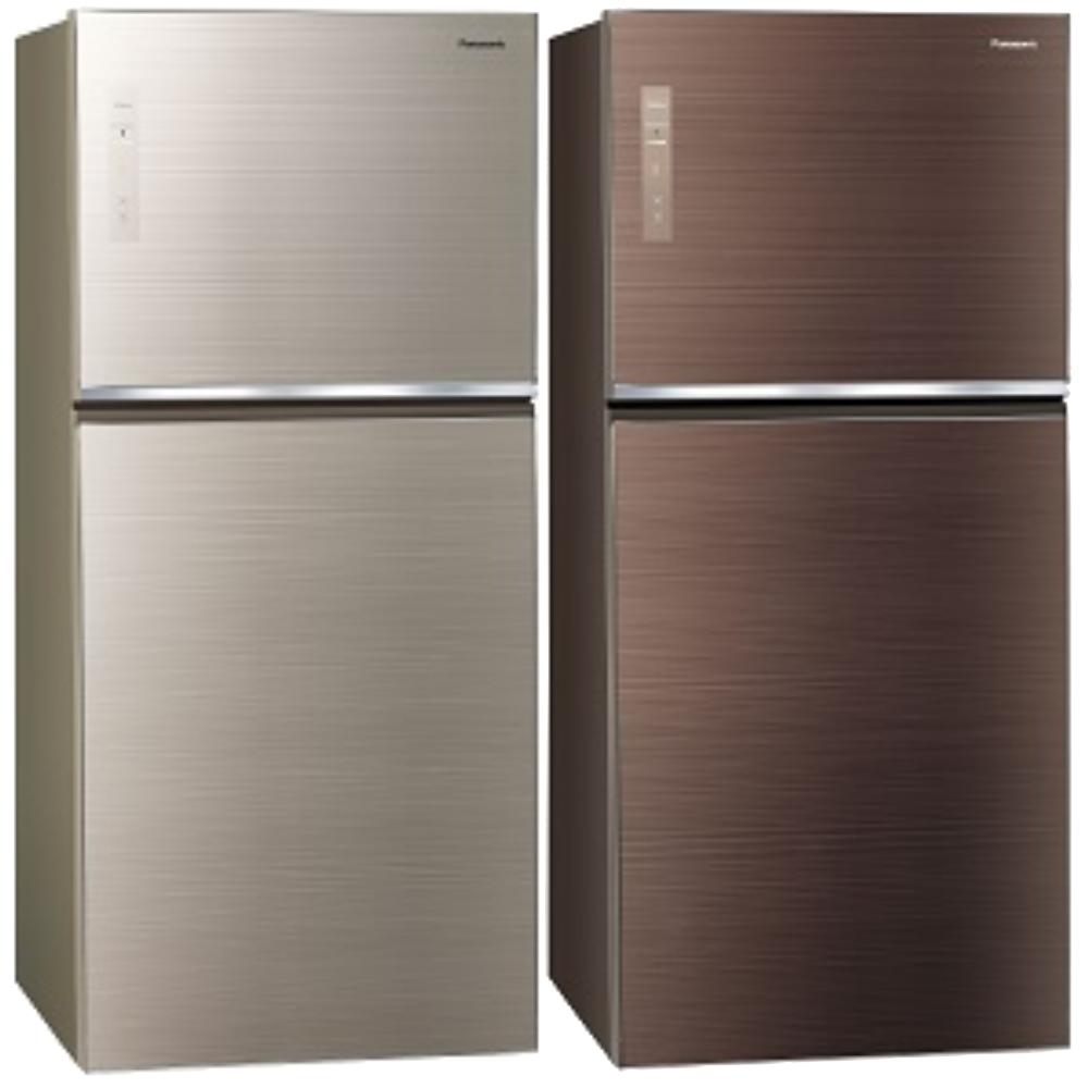 Panasonic國際牌變頻雙門電冰箱(玻璃面無邊框) 650公升 NR-B659TG-N/NR-B659TG-T