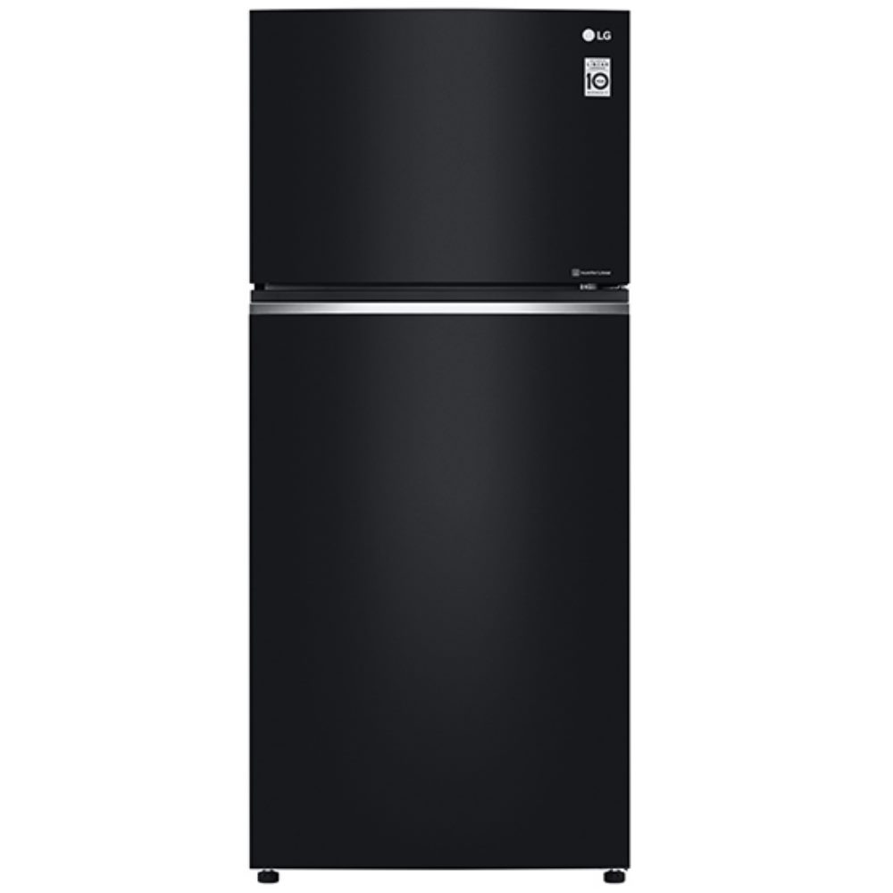 樂金LG525L直驅變頻上下門冰箱/ 時尚黑 (GN-HL567GB)