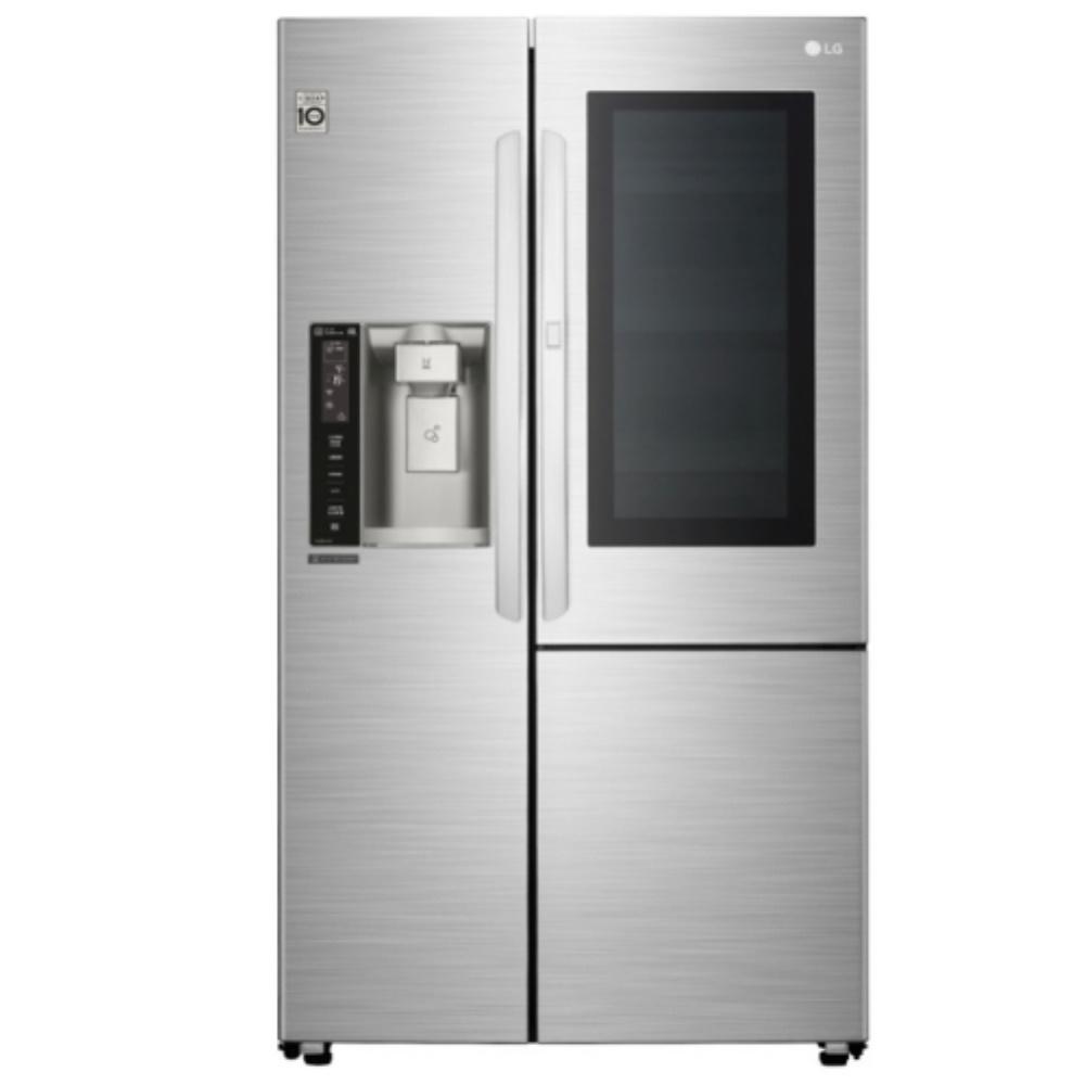 LG樂金 敲敲看門中門冰箱 GR-QPL88SV