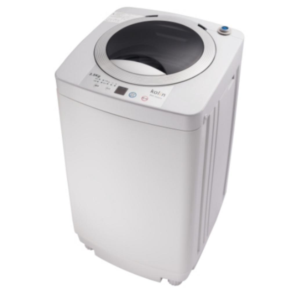KOLIN 歌林 3.5KG 單槽洗衣機 灰白 BW-35S03