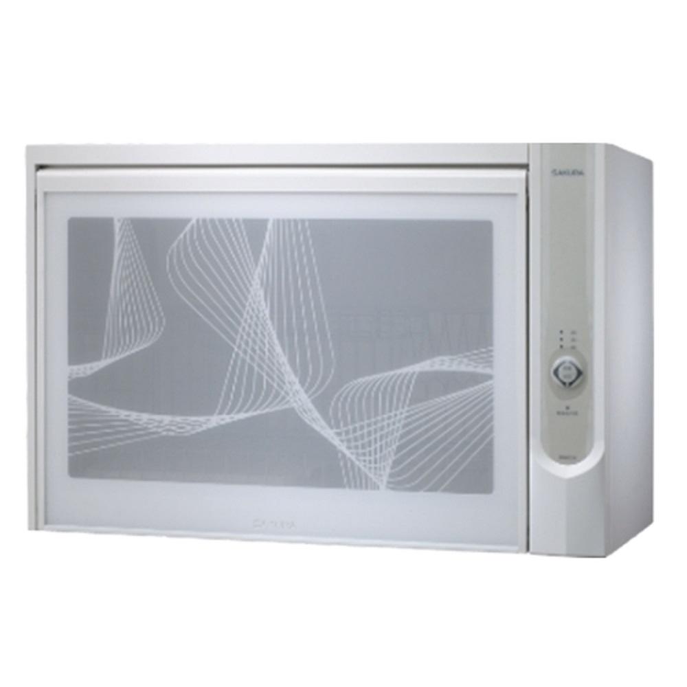 (全省安裝)櫻花懸掛式臭氧殺菌烘碗機60cm烘碗機Q-600CW白色
