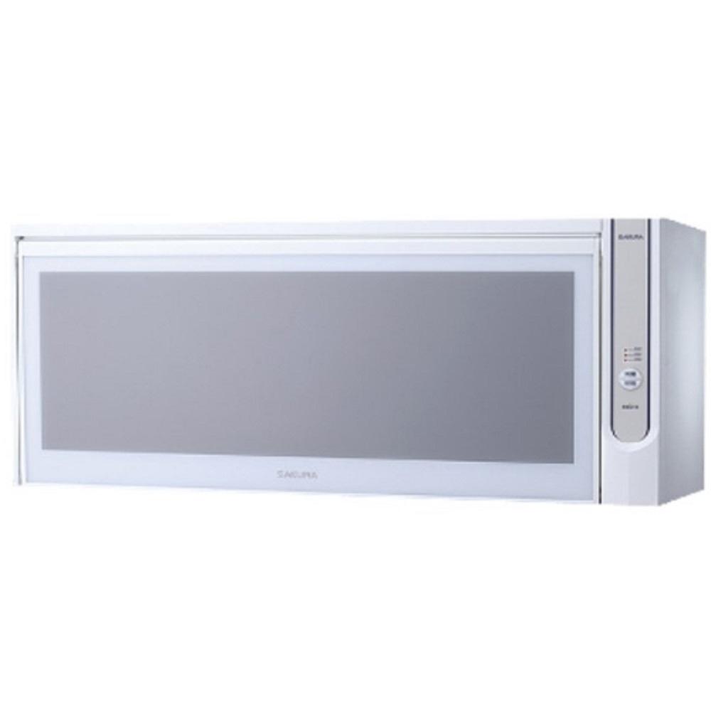 (全省安裝)櫻花懸掛式臭氧殺菌烘碗機90cm烘碗機Q-7565AWXL白色