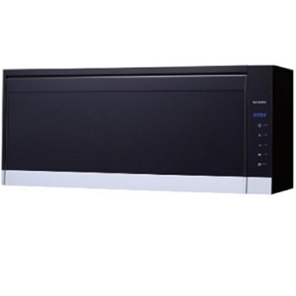 (全省安裝)櫻花懸掛式臭氧殺菌烘碗機90cm烘碗機Q-7583XL黑色