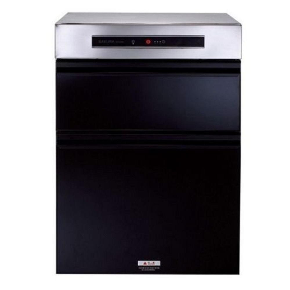 (全省安裝)櫻花落地式臭氧殺菌50cm烘碗機Q-7595ML黑色