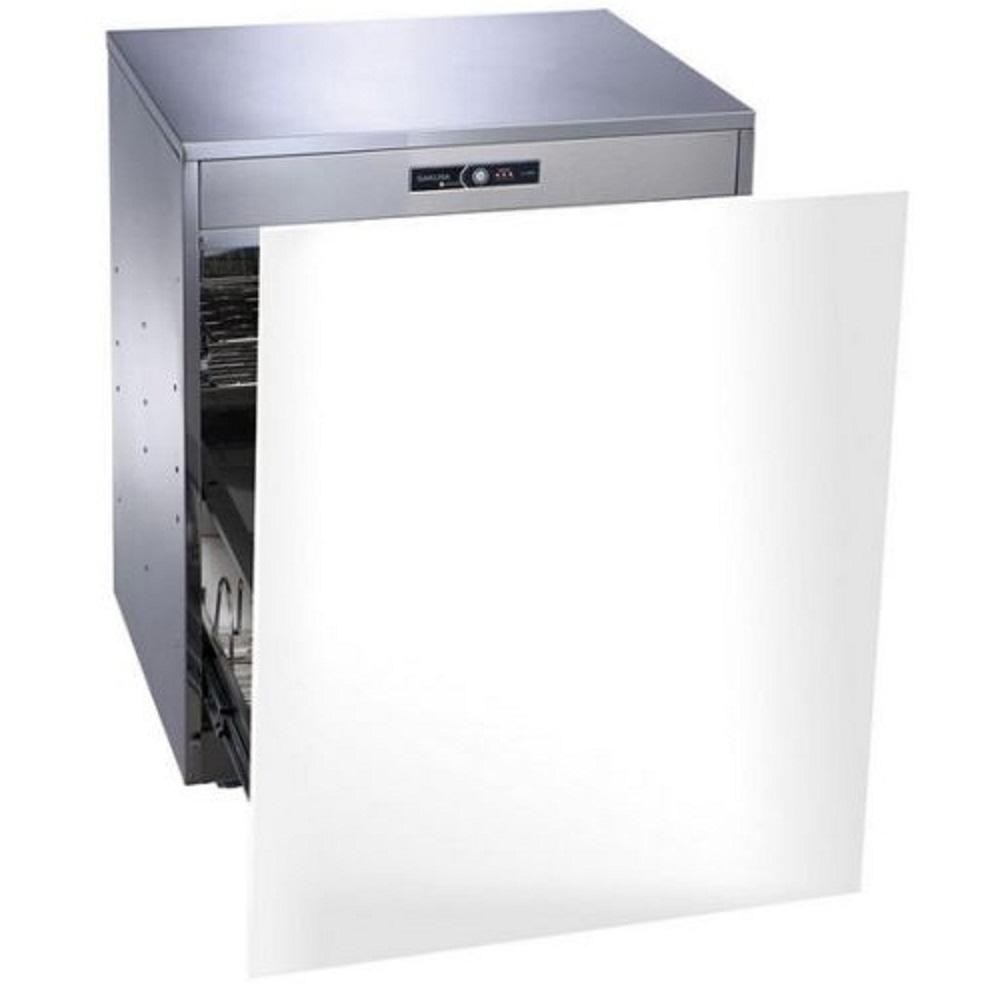 (全省安裝)櫻花落地式嵌門板臭氧殺菌高60cm烘碗機Q-7596AL白色
