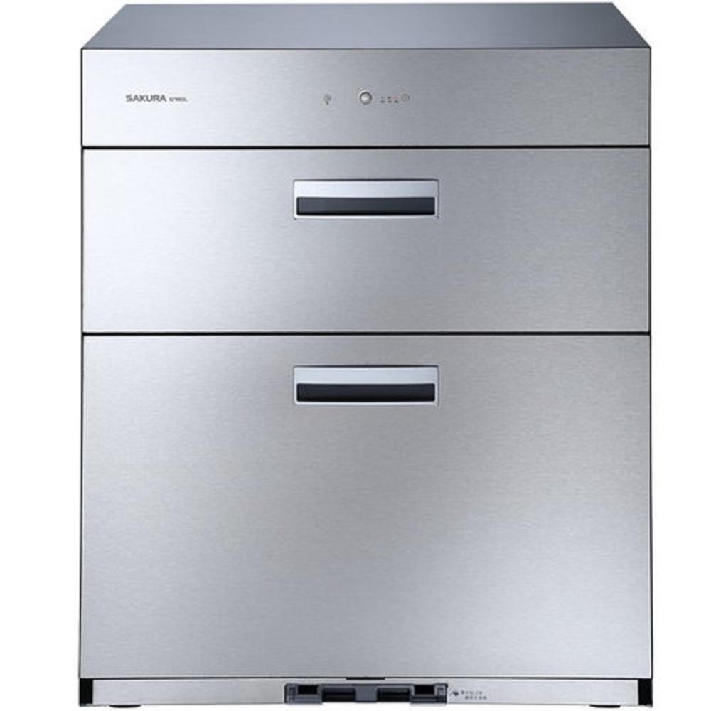 (全省安裝)櫻花落地式全平面落地式68cm烘碗機Q-7692銀色
