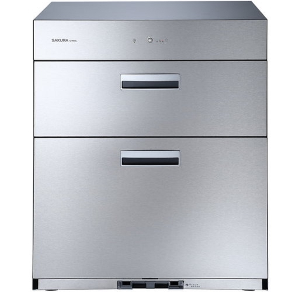 (全省安裝)櫻花落地式全平面落地式70cm烘碗機Q-7692L銀色