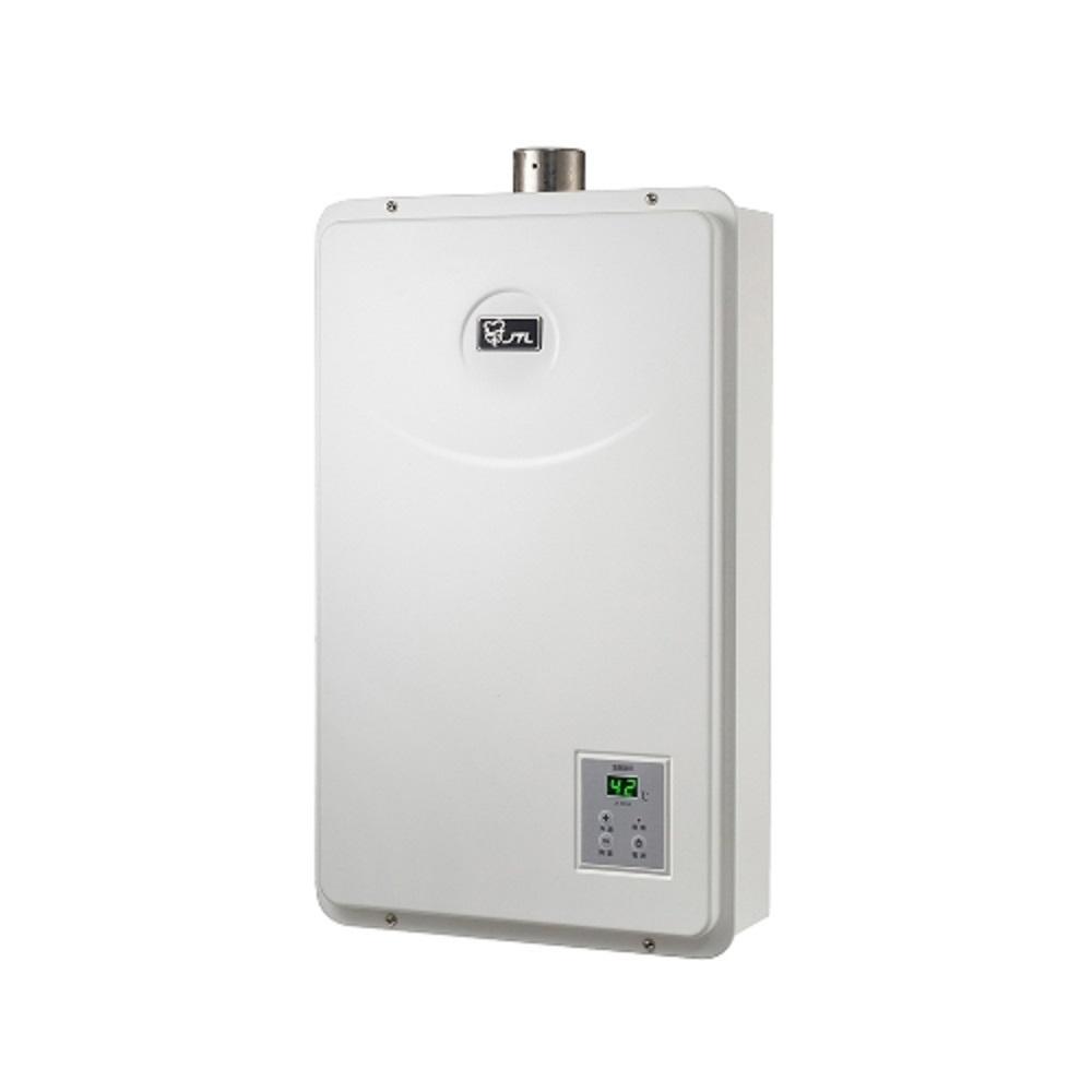 (全省安裝)喜特麗【JT-H1632】16公升數位恆溫FE式強制排氣