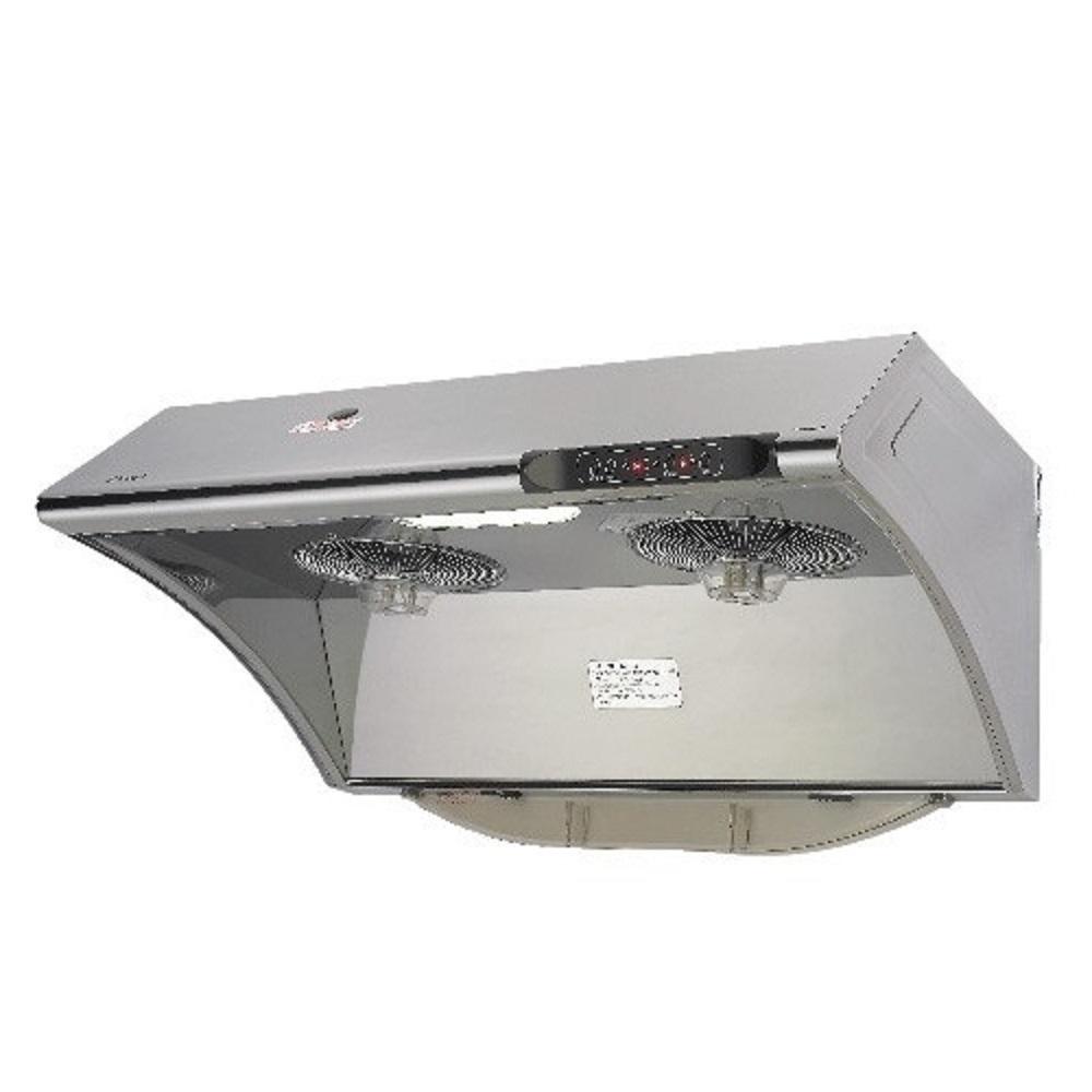 (全省安裝)林內 自動清洗電熱除油式不鏽鋼80公分排油煙機 RH-8033S