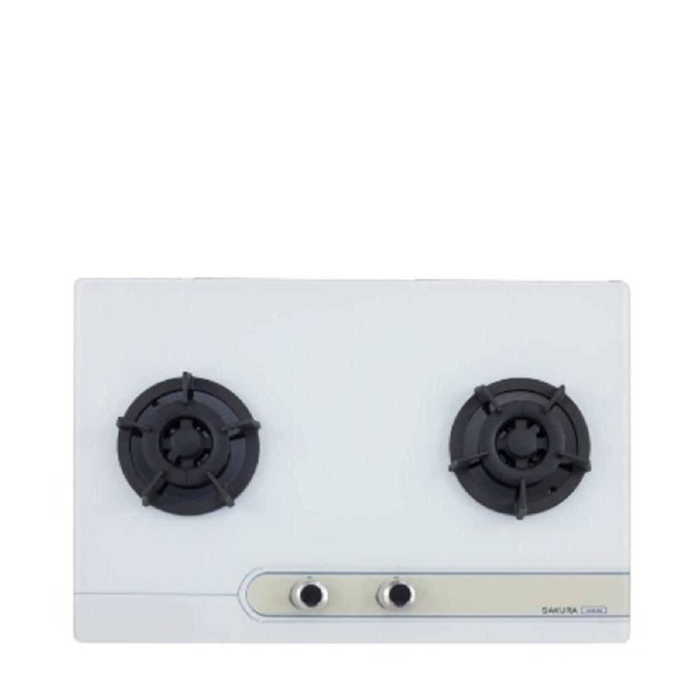 (全省安裝)櫻花 雙口檯面爐(與G-2623GW同款)瓦斯爐天然氣 G-2623GWN