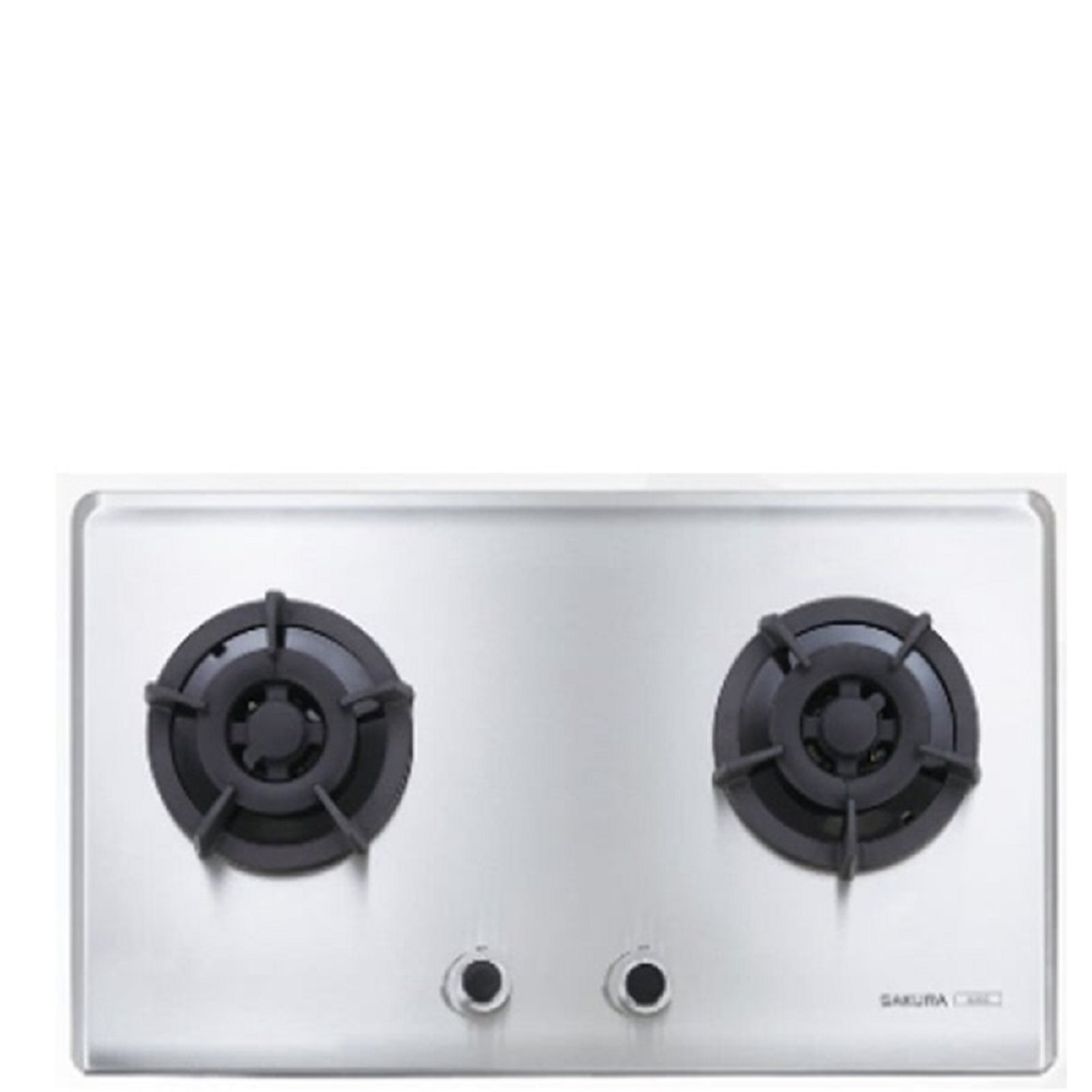 (全省安裝)櫻花 雙口檯面爐(與G-2522S同款)瓦斯爐天然氣 G-2522SN