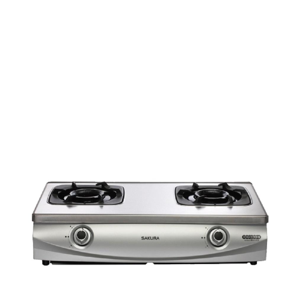 (全省安裝)櫻花 雙口檯面爐(與G-5900SL同款)瓦斯爐桶裝瓦斯 G-5900SL