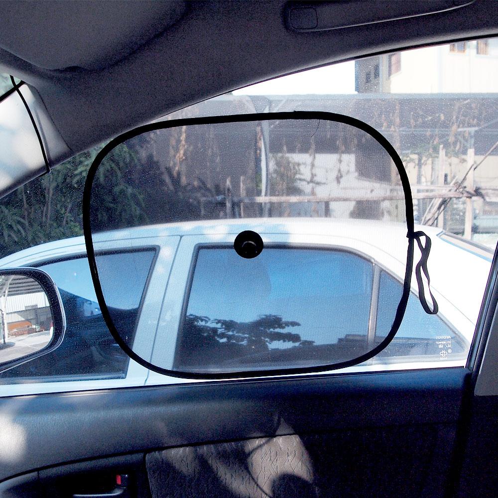 【遮陽防護】YARK小圓弧4入 (汽車遮陽)