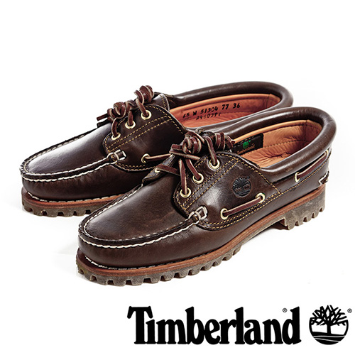 【福利網獨享】 Timberland Noreen三孔手工縫製雷根鞋女鞋-咖