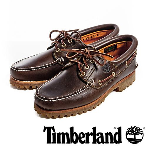 【福利網獨享】 Timberland 3孔經典雷根鞋男鞋-咖