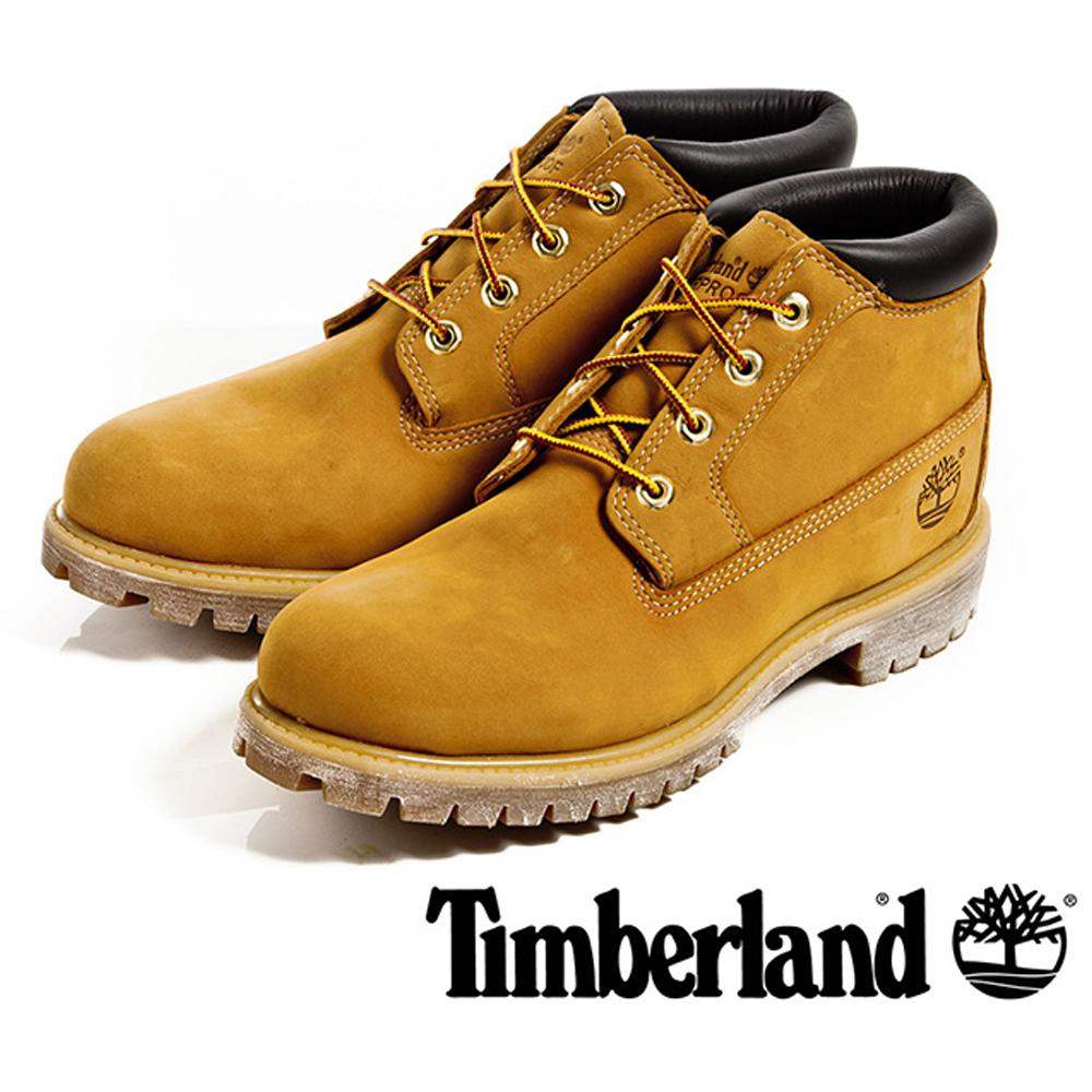 【福利網獨享】 Timberland 經典防水休閒靴男鞋-小麥黃
