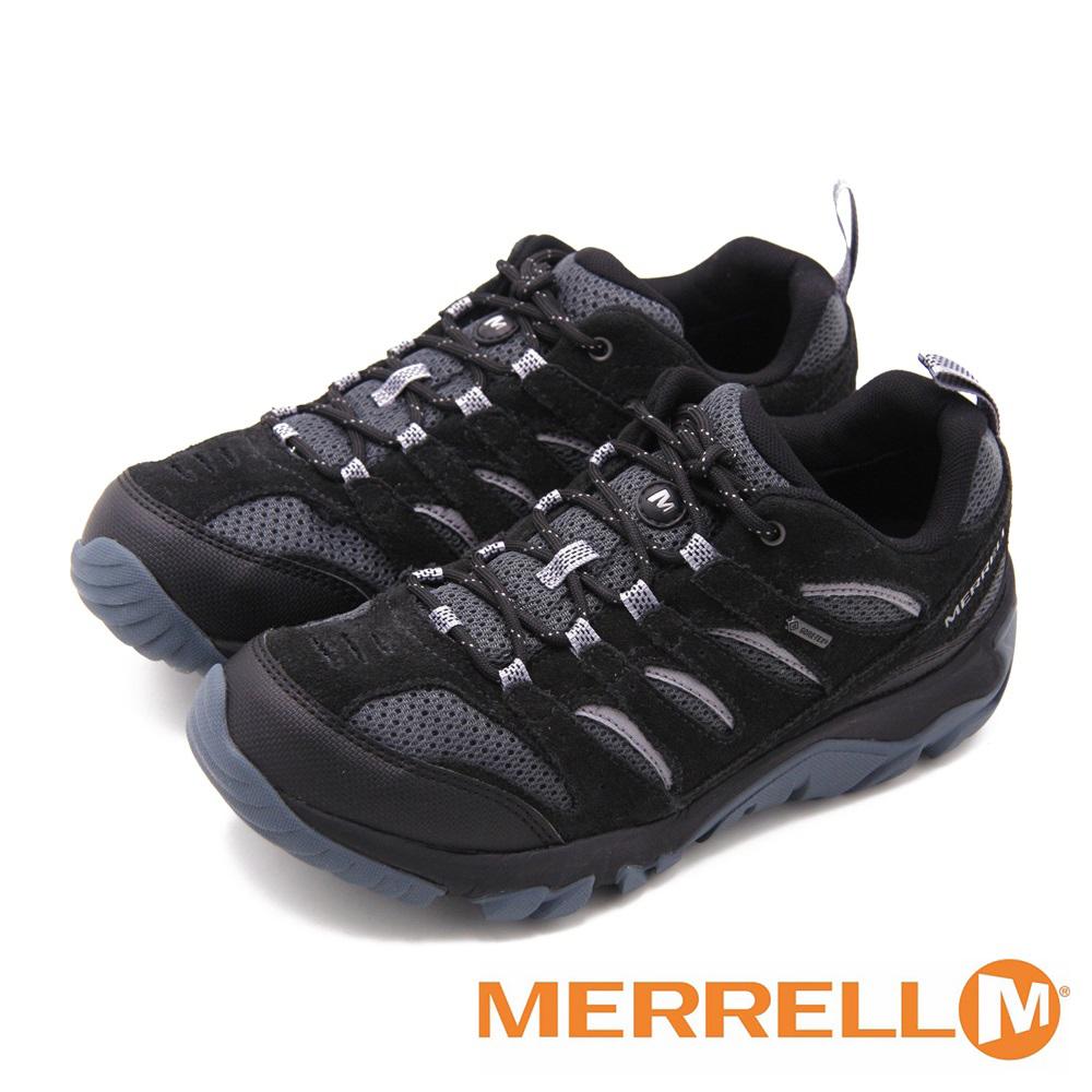 防水專業功能健行登山 男鞋-黑(另有深灰、棕)